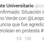 RT @TV_VENEZUELA: Frente Universitario del partido Voluntad Popular, confirma la situación irregular con Leopoldo López en Ramo Verde http://t.co/PafkkNTox8