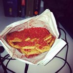 Conundrum: Your packet of Pizza Shapes has 200 times the usual amount of flavouring… eat it or send it to a museum? http://t.co/btK0OjTLaG