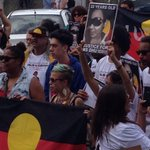 People are holding pictures of Ms Dhu, who died in custody in Hedland @abcnewsPerth http://t.co/COVMsfCa6R