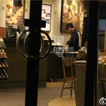 RT @EXOcastle: [UPDATE] 141023 Luhan was seen at a coffee shop yesterday (10/22) |cr: Sina music 5 http://t.co/0rpspRcruR http://t.co/FPMCqZayMn