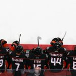 RT @NHL: .@AnaheimDucks in a row. http://t.co/p4zUjIDavM