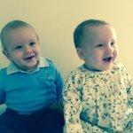 Doris & Ernest waiting for their Nans birthday party 🎂 xx http://t.co/8CnWAPcXJV