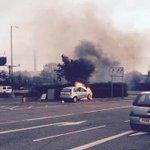 A car is currently on fire near Trent Bridge: http://t.co/W3SIi6h7QD http://t.co/aZkoQEkYKF