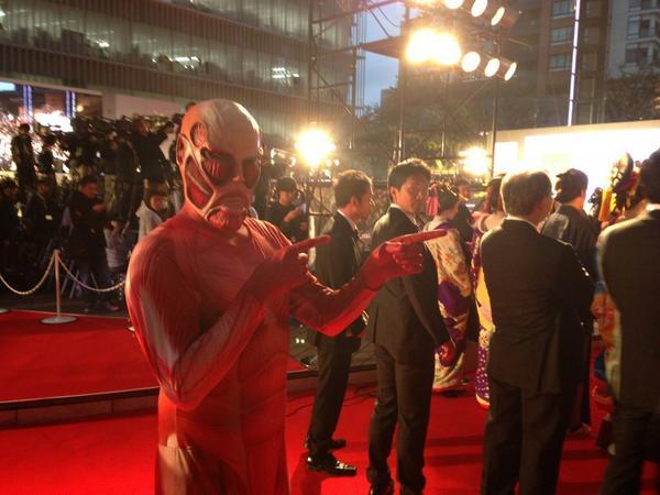 東京国際映画祭③ #shingeki pic.twitter.com/Lu4Zeerujb