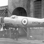 A Spitfire at Castle Bromwich station during the war. @birminghammail http://t.co/FzFTOHPIIo #spitfireclub http://t.co/y5VVCUthX5