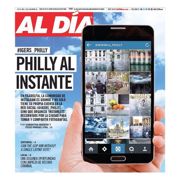 Grab the latest #aldianews in honor boxes today! & tune in to @900amwurd at 8am to hear us talk about #igers_philly! http://t.co/2hMoLO0EzQ