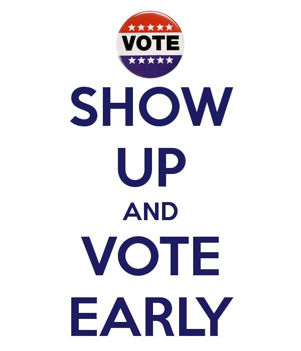 Early voting has started in Florida. Have u voted yet? #TNTweeters #UniteBlue #unitewomen http://t.co/ZIXi8ba4HW