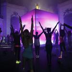 【写真追加】植野有砂も参加し、光と音、映像の異空間に包まれた「N+TC」リアルイベントの様子をアップしました http://t.co/2Txqa57tU7 #NikeWomen http://t.co/9M1ECFofYd