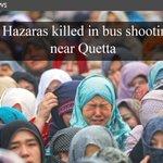RT @etribune: (News) 8 #Hazaras killed in bus shooting near #Quetta http://t.co/ozLaSvwS76 #Pakistan http://t.co/XLNmcdVBd7