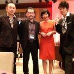 これからレッドカーペット! #TIFFJP #東京国際映画祭 with 百円の恋 http://t.co/5XXdeWSM2Y
