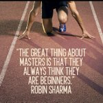 Morning Master beginners :) @Inspire_Us @robinsharma #quote #strength #Leadership http://t.co/VOW0jfw2BP