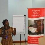 Dr. Mukasa stressing issues on maternal &Newborn health.@SNLuganda @savechildrenug @HealthyNewborns #Champ4Newborns http://t.co/iVINrGYjrC
