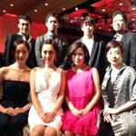 これからレッドカーペット! #TIFFJP #東京国際映画祭 with マンガ肉と僕 http://t.co/a4TZAKVP9T