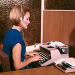A photo history of women's office fashion: http://t.co/GtijvucHgK ht @retronaut http://t.co/SW5qGUl5aA
