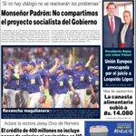 """Monseñor Diego Padrón, presidente de la CEV:""""IGLESIA NO COMPARTE PROYECTO SOCIALISTA DEL GOBIERNO"""" NotiTarde,Valencia http://t.co/pkSqlw6x8L"""