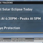 Reminder: A partial solar eclipse this afternoon, just dont hurt your eyes! http://t.co/Vfnvp2BECH http://t.co/VBgzkupWqY