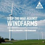 RT @AdamBandt: Today 100 Vic jobs lost because of gov attack on renewable energy. Stop the war on windfarms http://t.co/4ZLCKgCSjp http://t.co/c469jzbXTQ