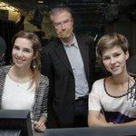 Studentes Tessa en Ella dromen van radiopresentator @hautekiet, of toch van zijn job http://t.co/CgIFXrkEKD http://t.co/Og6UCDdGMu