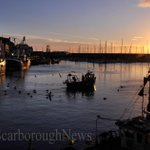 Sunrise over the harbour this morning! @TheScarboroNews @Scarborough_UK @ScarboroughUK #photography http://t.co/L3efuRSXiW