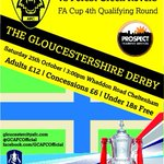 A Gloucestershire derby in the FA Cup & a preview on Football Focus on Sat. BTW..anyone under 18 gets in FREE! #COYY http://t.co/OzsBCNVS06