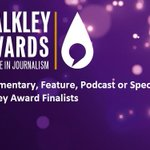 RT @PatrickAbboud: Well deserved! @walkleys: Congrats to Sarah Dingle, Radio Documentary, Feature, Podcast or Special finalist #Walkleys http://t.co/kKBfZWybD3