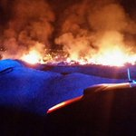 Tras su extinción la pasada madrugada por parte de #BomberosLPA mostramos imágenes de #incendio en #Tamaraceite. http://t.co/uNez7uWmGo