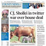 RT @Isaiah_Langat: So @dailynation steals @DailyMirrors photo,uses it on their front page & says the cow is from Chepkeche village! SMH http://t.co/Qw37ottLpz