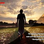 He may say that he loves you, wait and see what he does for you. ~ Senegalese Proverb #MonitorAfricanProverb http://t.co/iS8dVQWXGJ