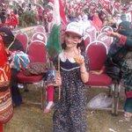 RT @GFarooqi: Beautiful little Hazara girl enthusiastic for PAT jalsa. Abbottabad. http://t.co/3xR137tz6z
