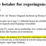 På BNB får man desværre slet ikk nævnt, at V selv vil spare 2,5mia kr år efter år på #dkaid t skattelettelser #dkpol http://t.co/fvA5lHfjYR