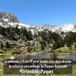 Decimos NO al proyecto de Ley de Parques Nacionales @PPopular #DefiendoMisParques http://t.co/DIk8SDqSHt