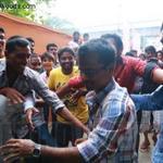 @ARMurugadoss at #KaSI Theatre for #kaththi 5 am show @MrBlackVijayFan @sunkavijay @sakthivel132015 @AswathFanOfVJ http://t.co/nDYgeZDvOr