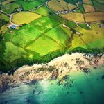 Stunning coastline near Nefyn, #northwales Taken from #Helimed61 http://t.co/XOJpznTgkP