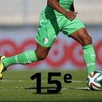 RT @DZFootcom: LAlgérie à la 15e place du classement FIFA http://t.co/LX4LYxkvvh http://t.co/K15smV6EBX