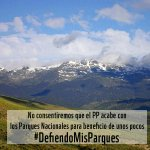 RT @WWFespana: Los #parquesnacionales son tuyos. No consientas que el @PPopular los ponga en peligro #DefiendoMisParques http://t.co/2cZYrD4UP4