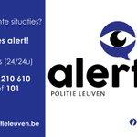 Wees #Alert voor verdachte persoon die aan klinken tast van geparkeerde voertuigen #Leuven http://t.co/Zr35MoZ9OV http://t.co/GApsi8sjeo