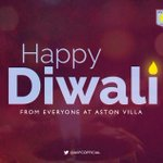 Wishing a very Happy #Diwali2014 to all our fans celebrating the festival of lights. #AVFC http://t.co/2EpQ1pMKC5