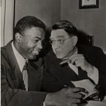 RT @Dodgers: On this date in 1945, Branch Rickey and Jackie Robinson not only made Dodgers history, but American history. #TBT http://t.co/yhfiVrHF9j