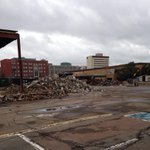 RT @LetterickCBC: Highfield Square in Moncton quickly disappearing. #nb http://t.co/mCyaXfRnkK