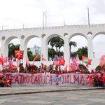 RT @JPT13: No Rio, ainda mais amor! É a turma do teatro com Dilma! #13rasilTodoComDilma http://t.co/mwQeZ65Db6