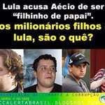 Acusar @AecioNeves de filhinho de Papai é fácil, quero ver provar de onde veio o $$$$$ destes ai. #Aecio45PeloBrasil http://t.co/nqGrddOYIW