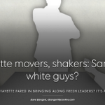 This one is from Weds J&C: Lafayette movers & shakers: Same old white guys? A #LafCoC update http://t.co/0umxDsIFXY http://t.co/dY8GZ9CJ8U