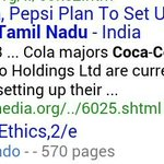 RT @Nanbanvinoth: Remember Coke Bottling plants started in Tamil nadu after 2003 !! Vijay Ad was done in 2001 http://t.co/g2KY0lvsWM