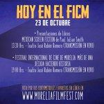 RT @eferiamich: Festival Internacional de Cine de Morelia | Programa para el día de hoy, Jueves 23 de Octubre. @FICM, @gobmichoacan. http://t.co/CBucYDV4xN