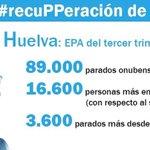 16.600 parados más en #Huelva,según la EPA. Estas son las consecuencias de la reforma laboral. #recuPPeración http://t.co/V7DgL4VrEt