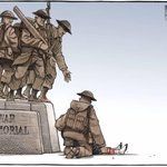 A very powerful image by Bruce MacKinnon of the Halifax Chronicle-Herald. Rest in Peace Nathan Cirillo. http://t.co/zvRi2sNY6J