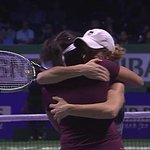 RT @TennisTV: Blimey! That was an epic breaker. Mirza & Black get the win v Kops-Jones & Spears. 63 26 12-10 tennis http://t.co/u7o7Re6aTd