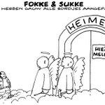 Bedankt voor dit prachtige eerbetoon aan mijn oom, @fokkesukke. http://t.co/2YJk4cMrao