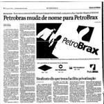 """RT @Politica_Santos: vejo Dilma se rebaixar a dizer que eu ia mudar o nome da Petrobras"""", FHC muito louco hoje na Folha #PSDBsecouSP http://t.co/UPJB3c3Amy"""