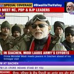 RT @timesnow: The nation sleeps in peace because you are awake, says Prime Minister Narendra Modi #DiwaliInTheValley http://t.co/jSgYF4MprI